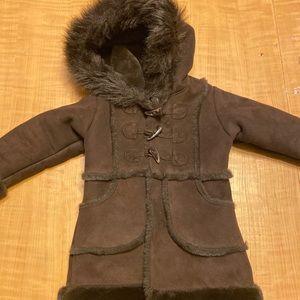 Baby Gap Faux Sherling Coat
